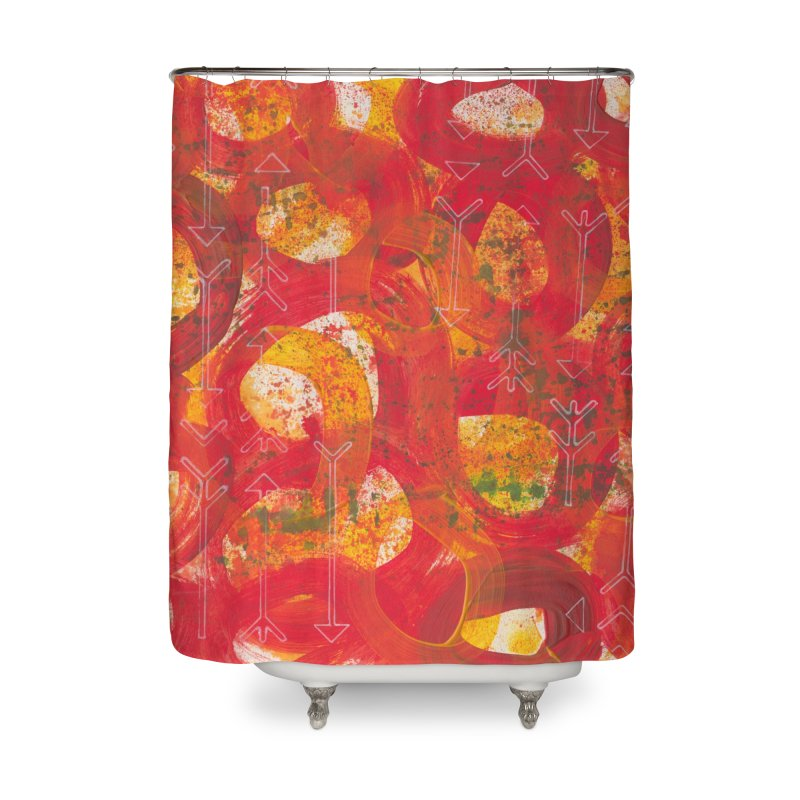 Directions Home Shower Curtain by Margie Mark's Artist Shop