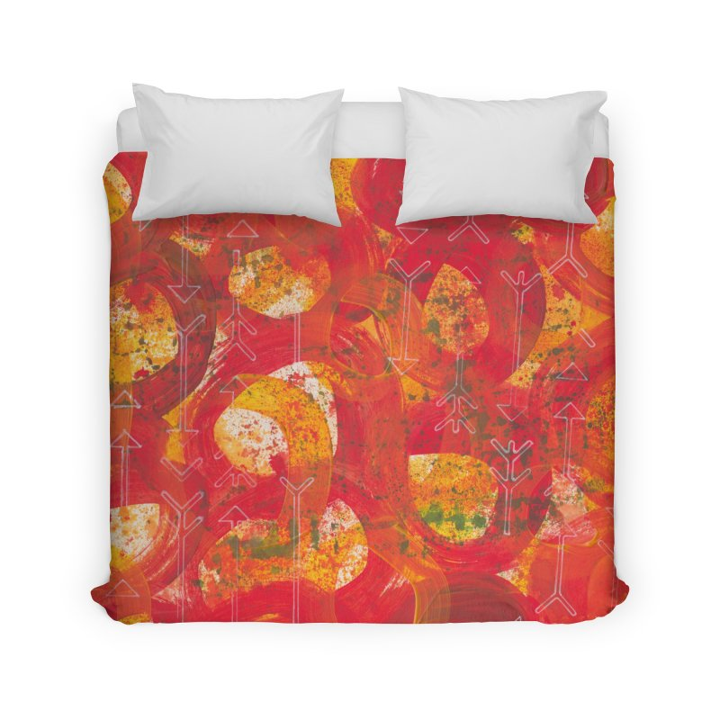 Directions Home Duvet by Margie Mark's Artist Shop