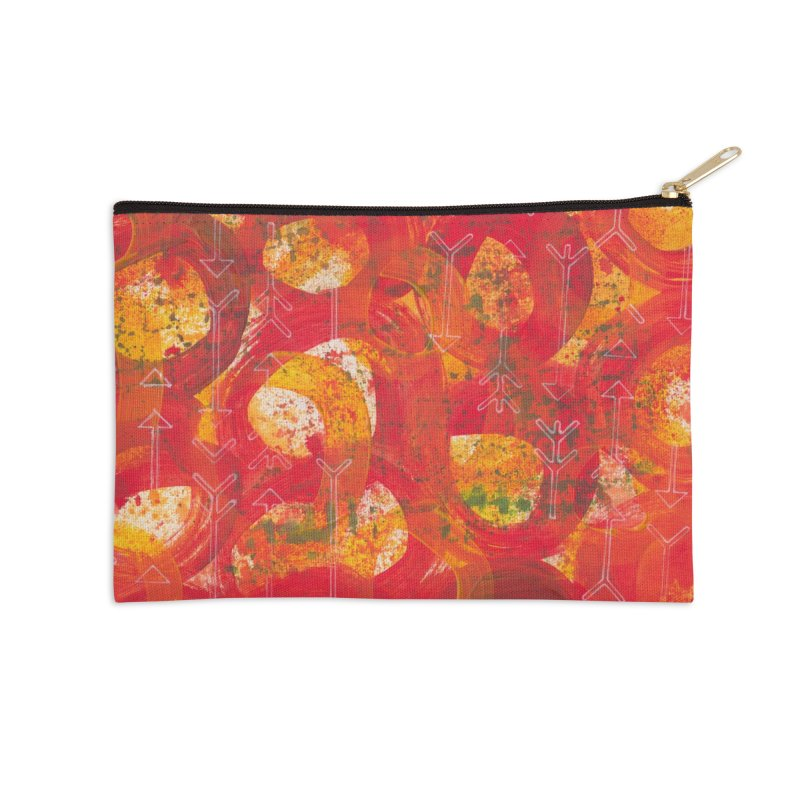 Directions Accessories Zip Pouch by Margie Mark's Artist Shop