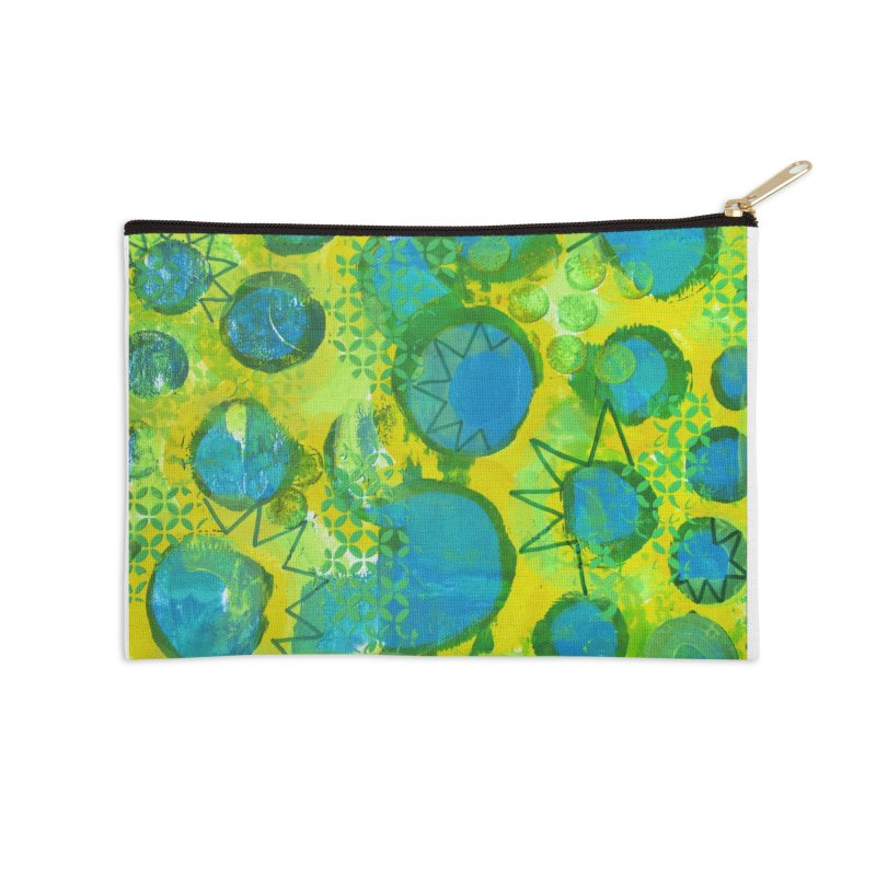Eclipse Accessories Zip Pouch by Margie Mark's Artist Shop