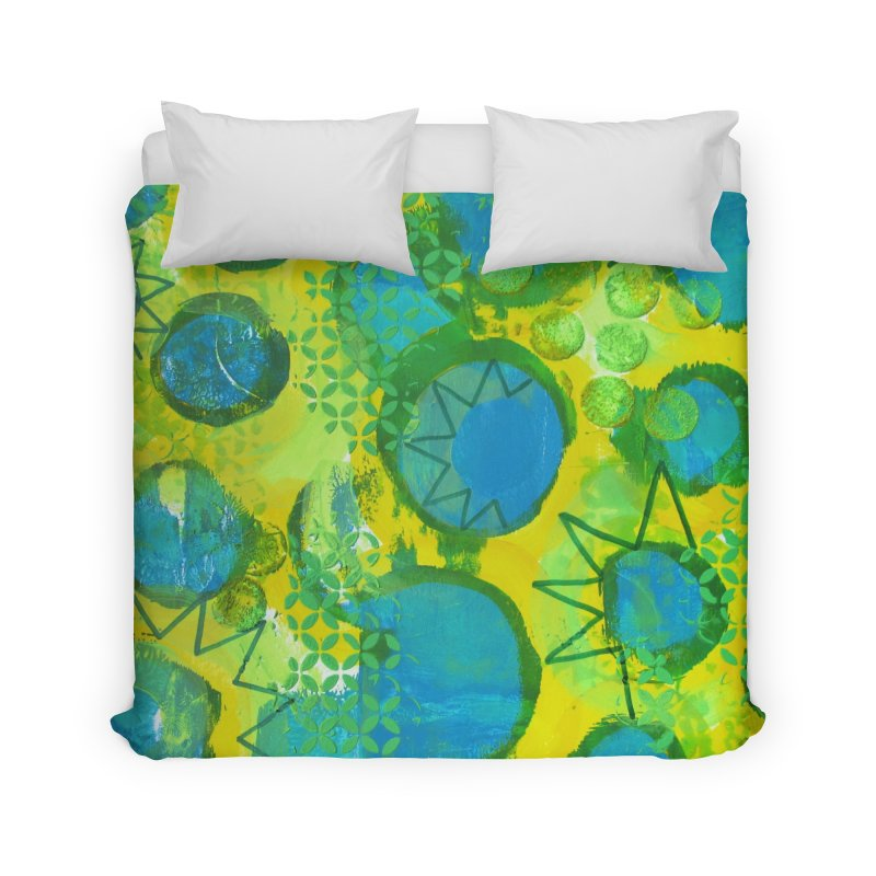 Eclipse Home Duvet by Margie Mark's Artist Shop