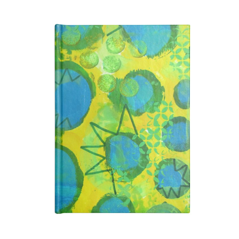 Eclipse Accessories Notebook by Margie Mark's Artist Shop