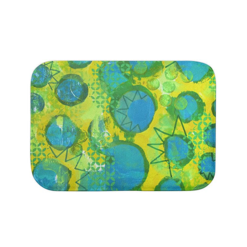 Eclipse Home Bath Mat by Margie Mark's Artist Shop