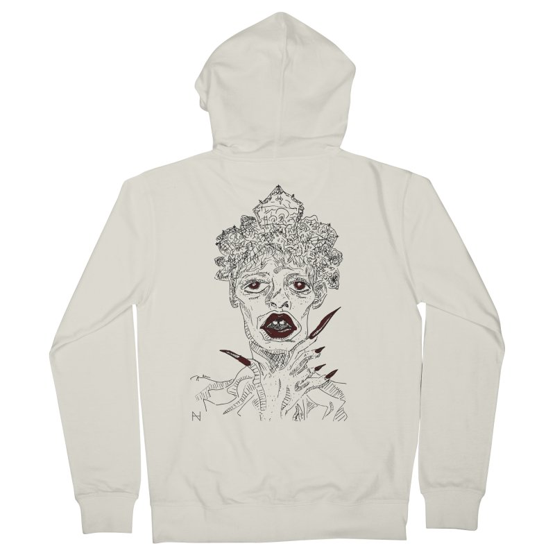That girl Sussi Men's Zip-Up Hoody by mariabelonesart's Artist Shop