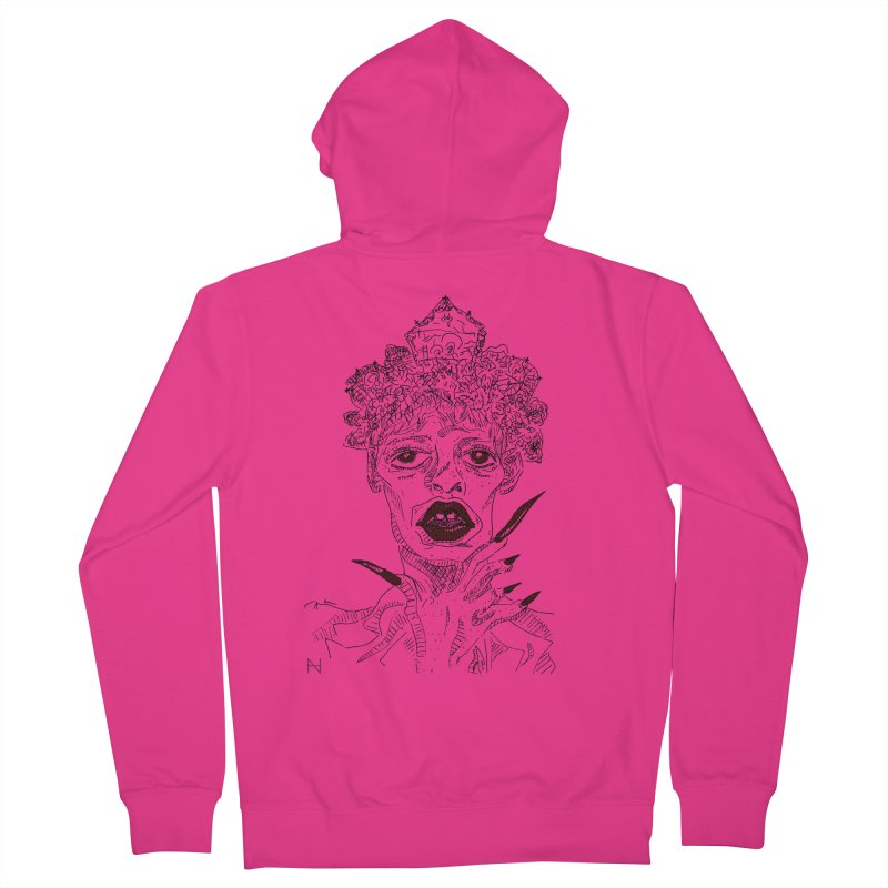 That girl Sussi Men's Zip-Up Hoody by MariabelonesART