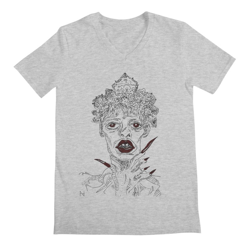 That girl Sussi Men's V-Neck by mariabelonesart's Artist Shop