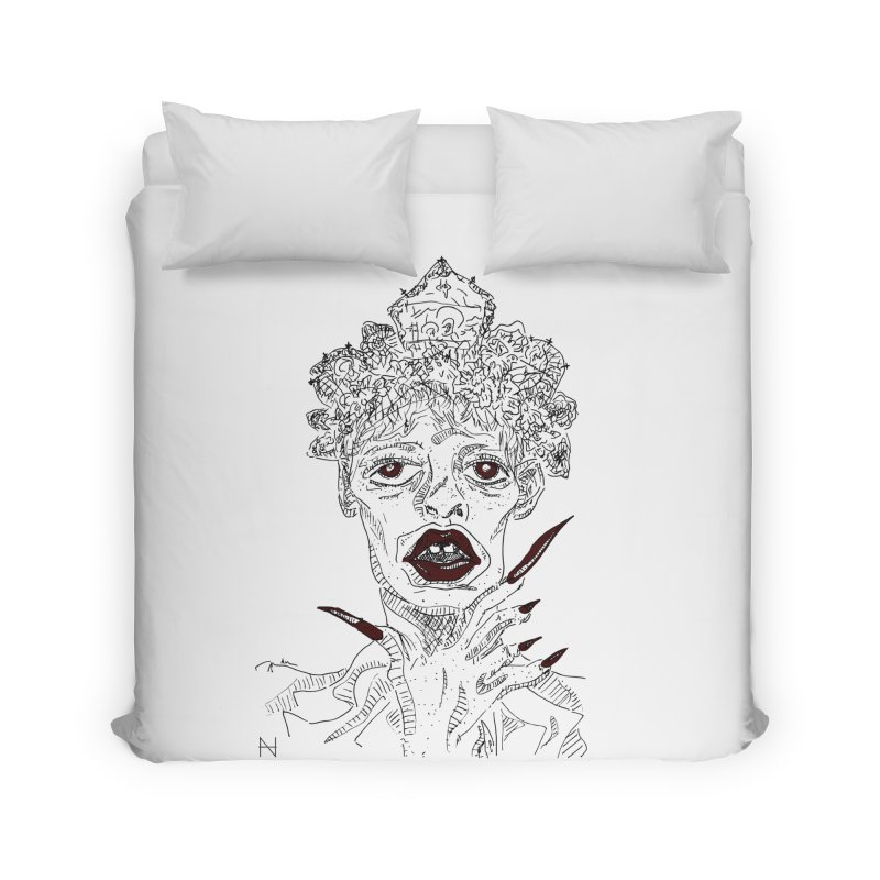 That girl Sussi Home Duvet by mariabelonesart's Artist Shop