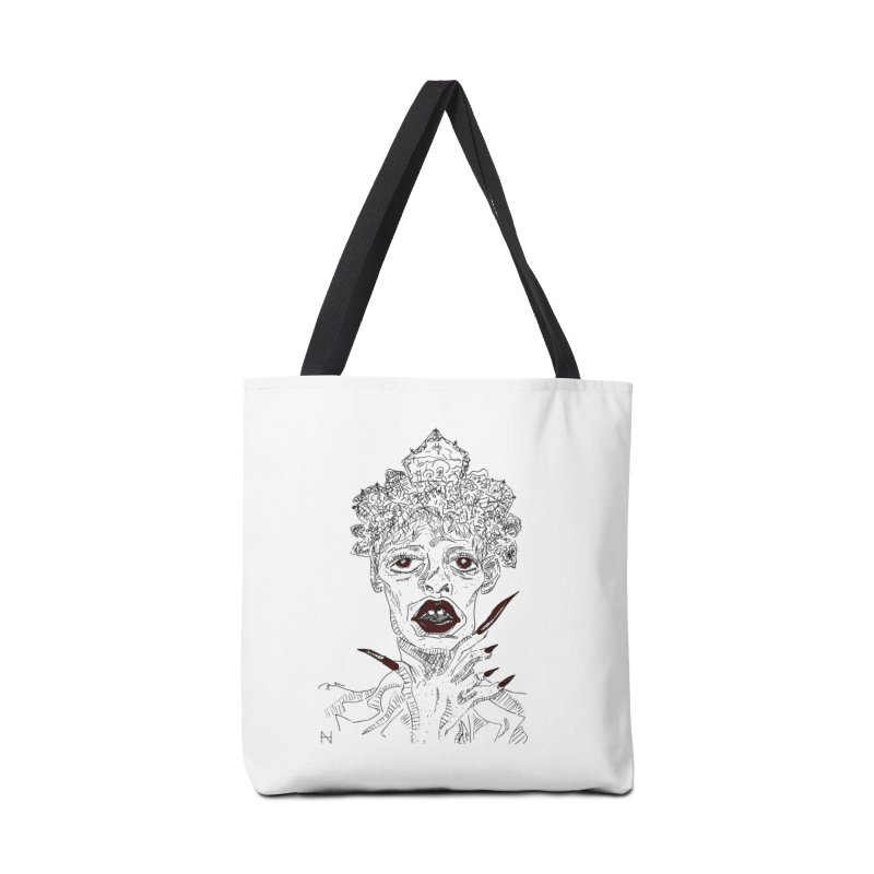 That girl Sussi Accessories Bag by mariabelonesart's Artist Shop