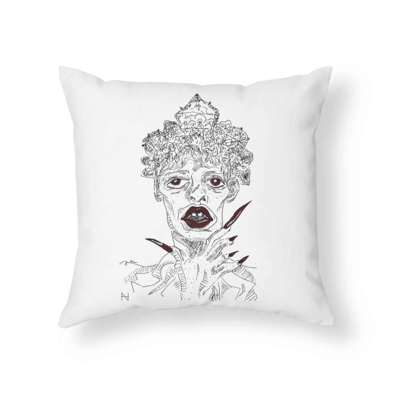 That girl Sussi Home Throw Pillow by MariabelonesART