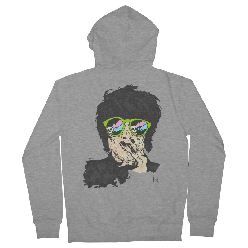 Paul Women's Zip-Up Hoody by mariabelonesart's Artist Shop