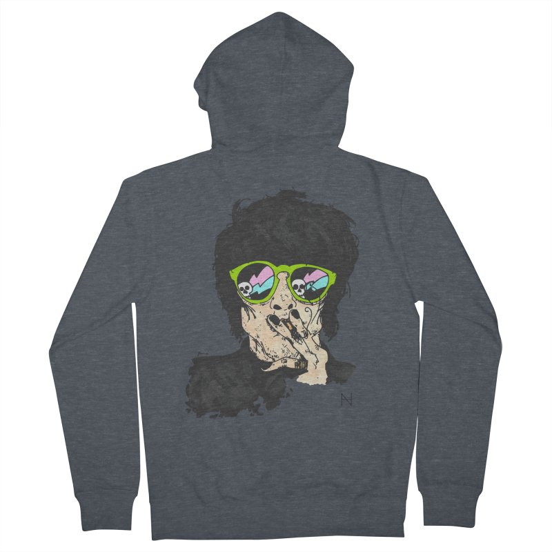 Paul Men's Zip-Up Hoody by MariabelonesART