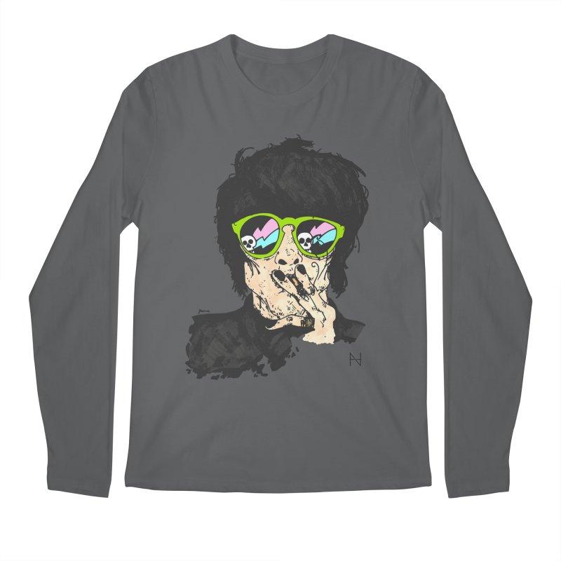 Paul Men's Longsleeve T-Shirt by MariabelonesART