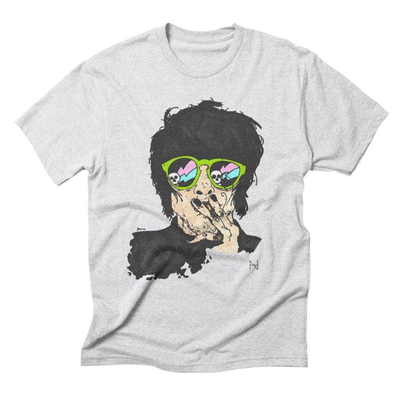 Paul Men's Triblend T-Shirt by MariabelonesART