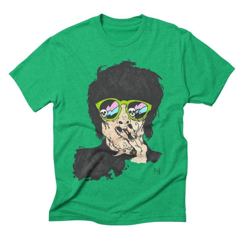 Paul Men's Triblend T-shirt by mariabelonesart's Artist Shop