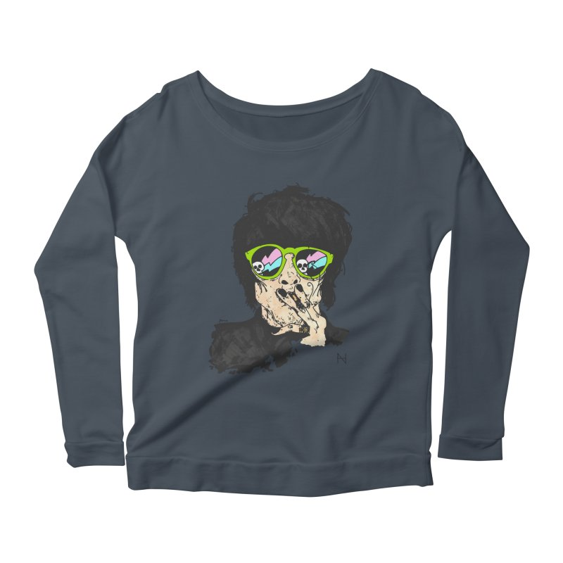Paul Women's Longsleeve Scoopneck  by mariabelonesart's Artist Shop