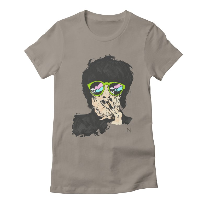Paul Women's Fitted T-Shirt by MariabelonesART