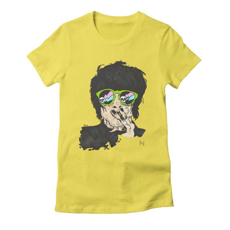 Paul Women's Fitted T-Shirt by mariabelonesart's Artist Shop