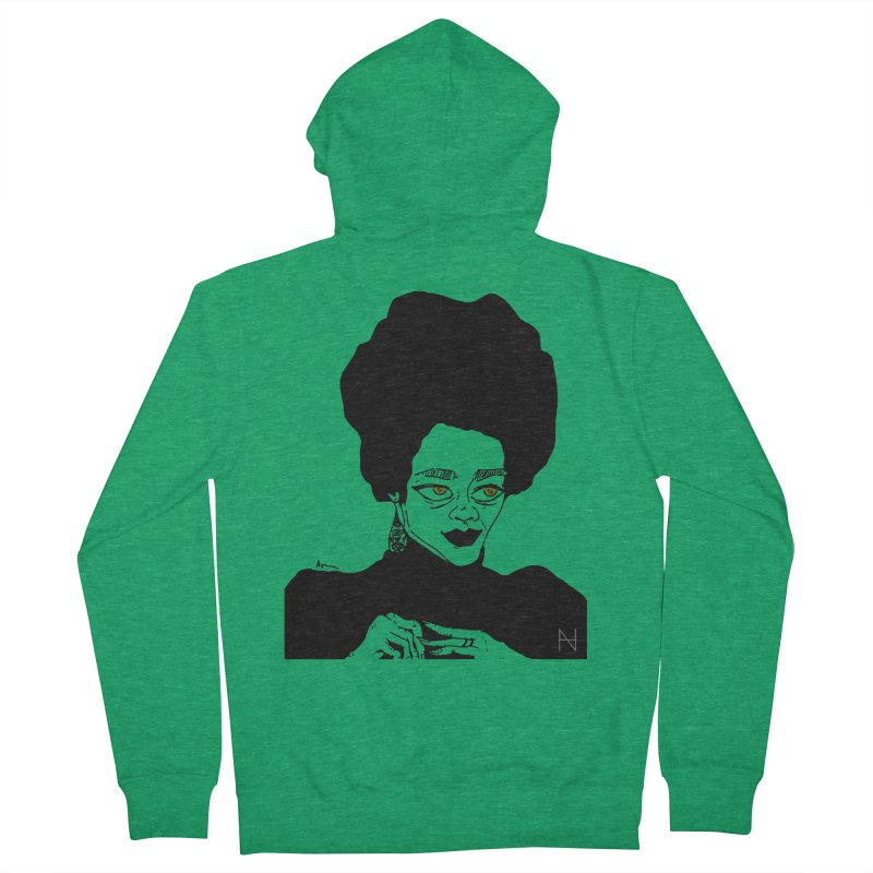 Coretta Women's Zip-Up Hoody by mariabelonesart's Artist Shop