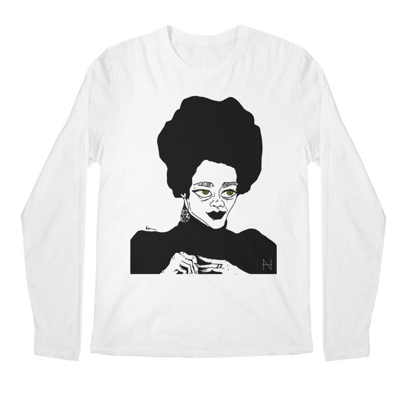 Coretta Men's Longsleeve T-Shirt by MariabelonesART