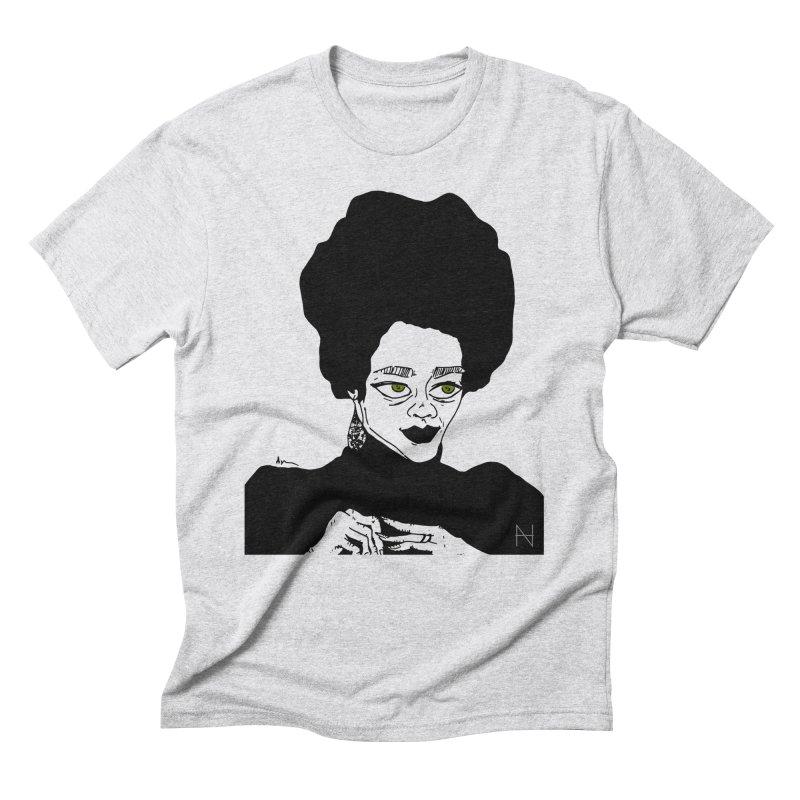 Coretta Men's Triblend T-shirt by mariabelonesart's Artist Shop