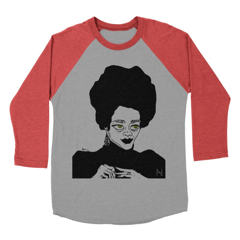 Coretta Men's Baseball Triblend T-Shirt by mariabelonesart's Artist Shop