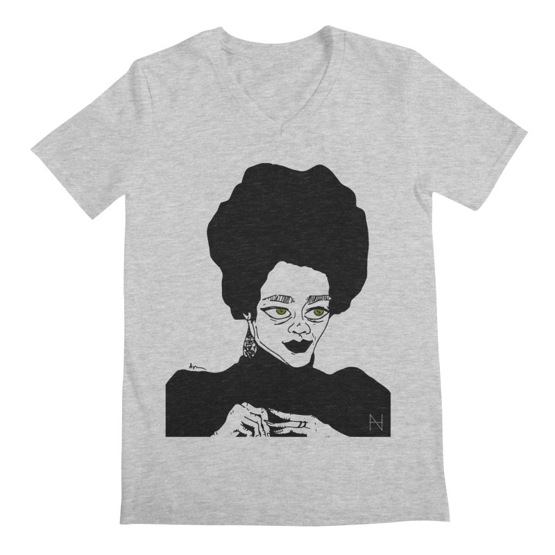 Coretta Men's V-Neck by mariabelonesart's Artist Shop