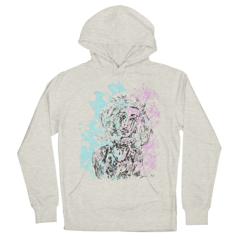 Too much going on Women's Pullover Hoody by mariabelonesart's Artist Shop