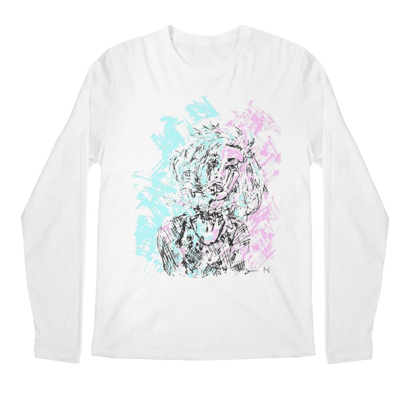 Too much going on Men's Longsleeve T-Shirt by MariabelonesART