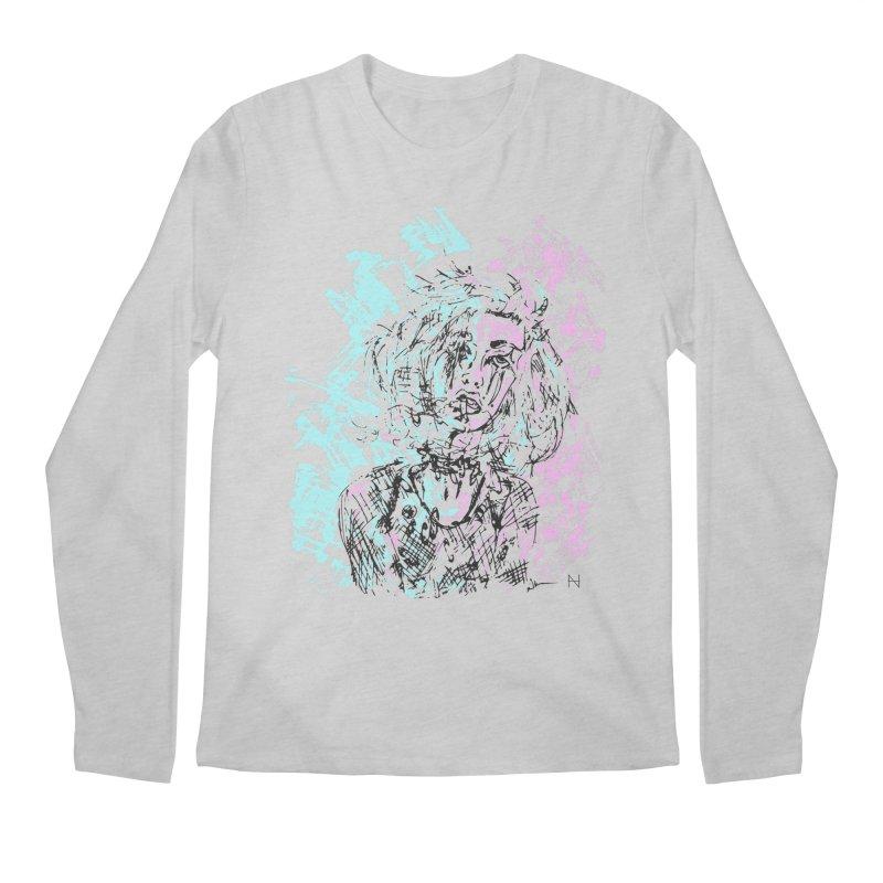 Too much going on Men's Longsleeve T-Shirt by mariabelonesart's Artist Shop