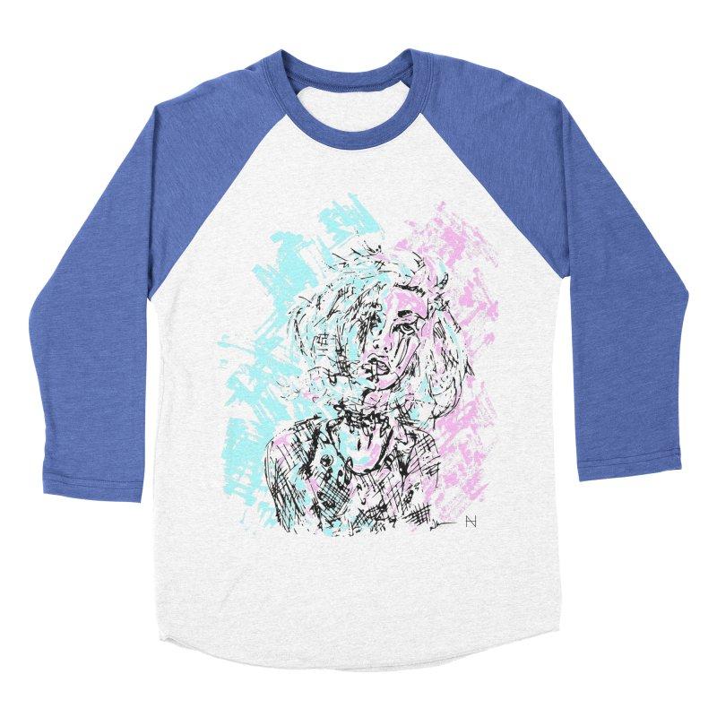 Too much going on Women's Baseball Triblend T-Shirt by mariabelonesart's Artist Shop