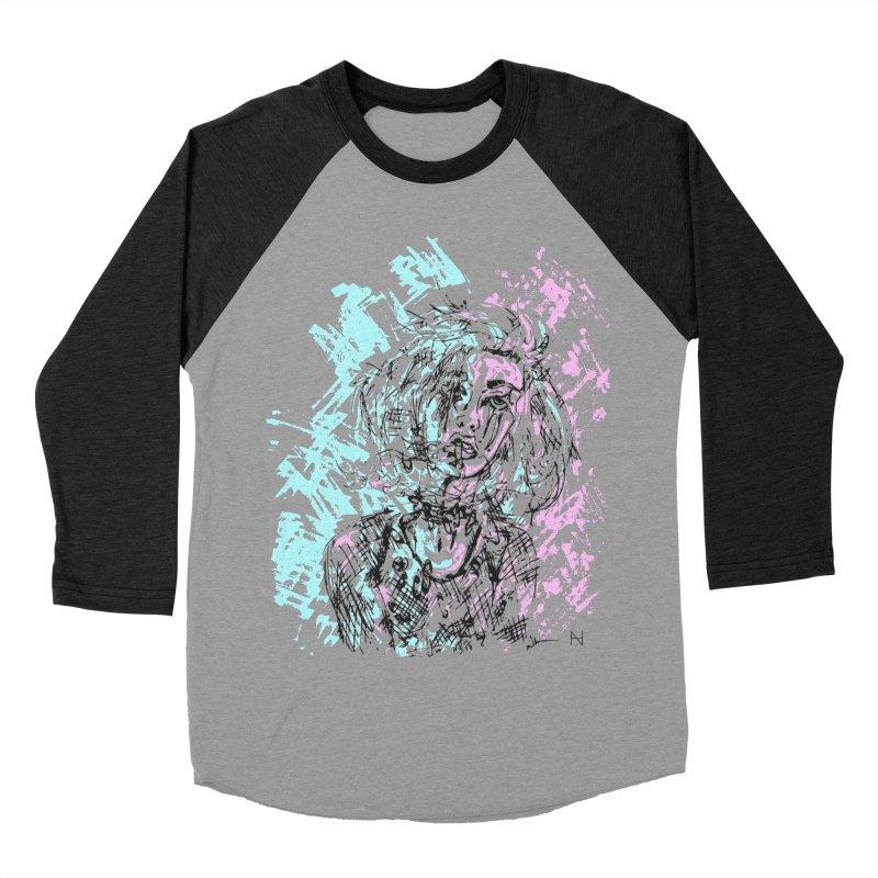 Too much going on Men's Baseball Triblend T-Shirt by mariabelonesart's Artist Shop