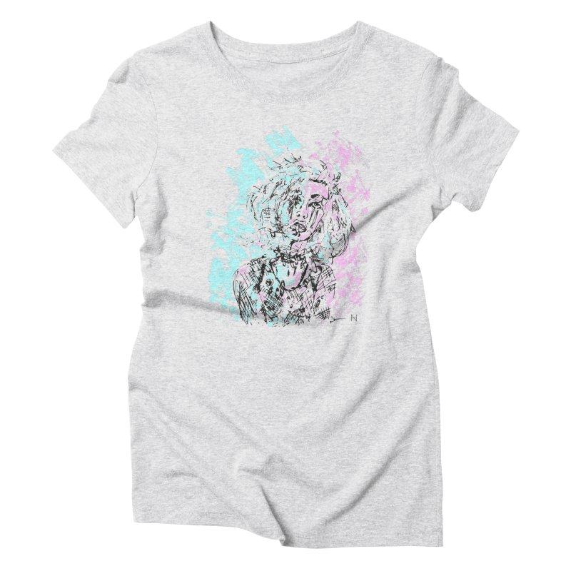 Too much going on Women's Triblend T-Shirt by mariabelonesart's Artist Shop