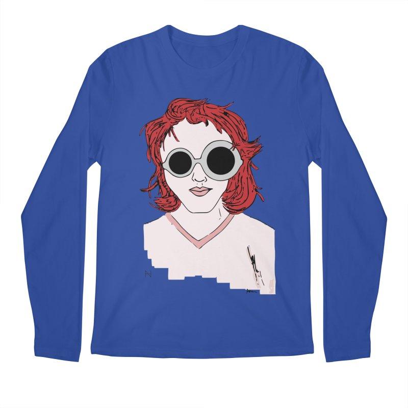 Anna Men's Longsleeve T-Shirt by MariabelonesART