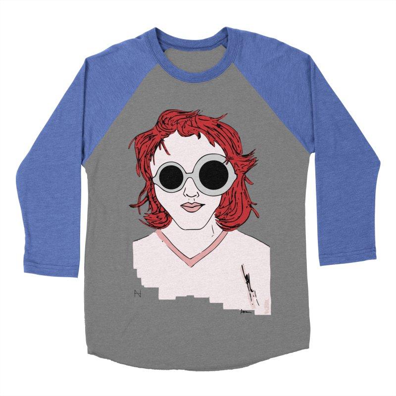Anna Women's Baseball Triblend T-Shirt by mariabelonesart's Artist Shop