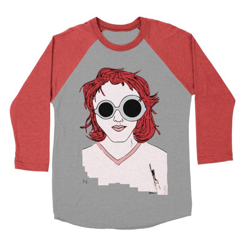 Anna Men's Baseball Triblend T-Shirt by mariabelonesart's Artist Shop
