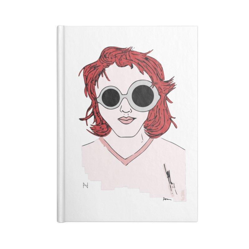 Anna Accessories Notebook by mariabelonesart's Artist Shop