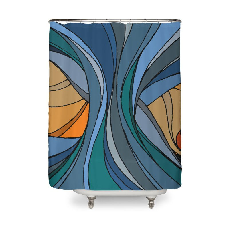 El Mariabelon Home Shower Curtain by mariabelonesart's Artist Shop
