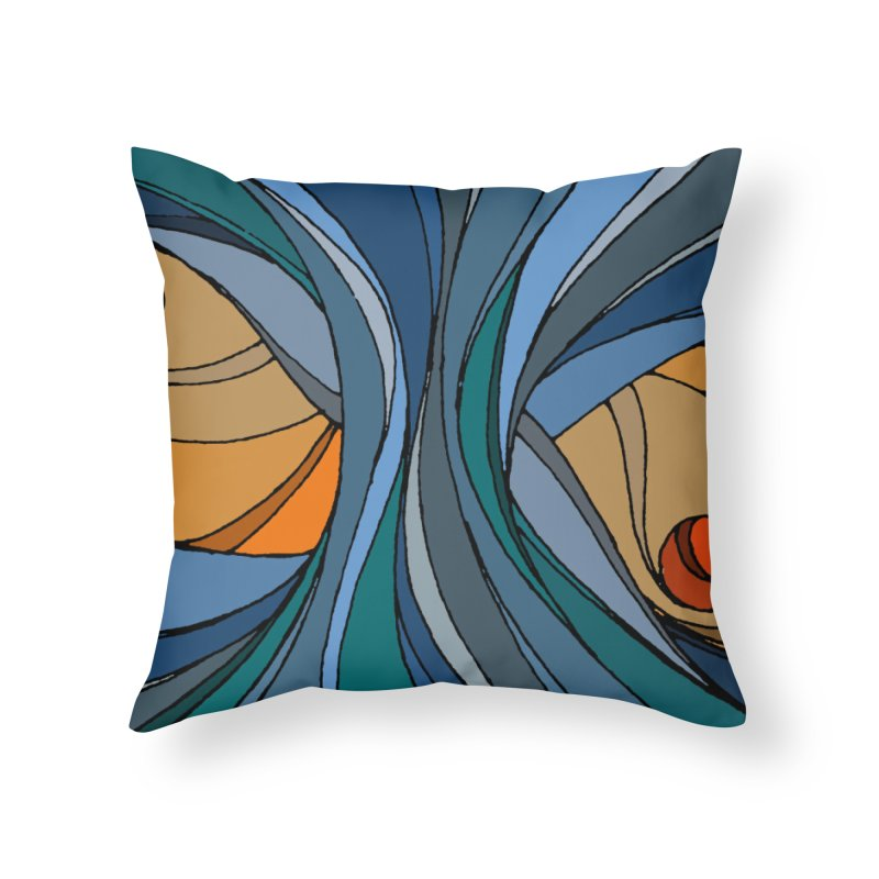 El Mariabelon Home Throw Pillow by MariabelonesART