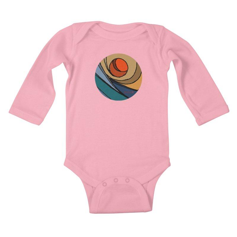 El Mariabelon Kids Baby Longsleeve Bodysuit by mariabelonesart's Artist Shop