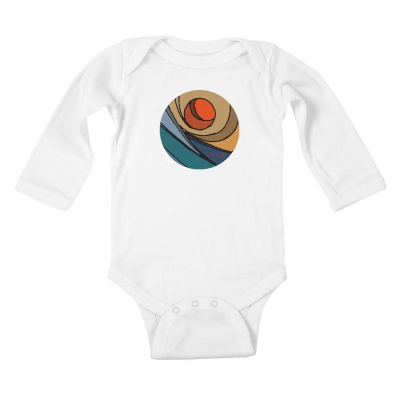 El Mariabelon Kids Baby Longsleeve Bodysuit by mariabelonesart's Artist Shop