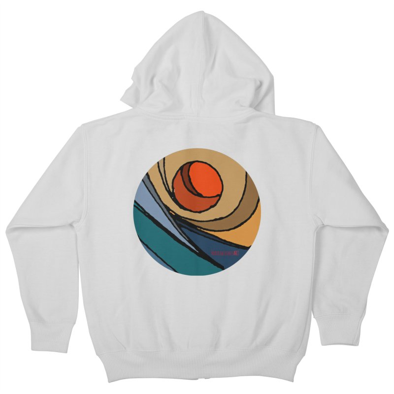 El Mariabelon Kids Zip-Up Hoody by mariabelonesart's Artist Shop