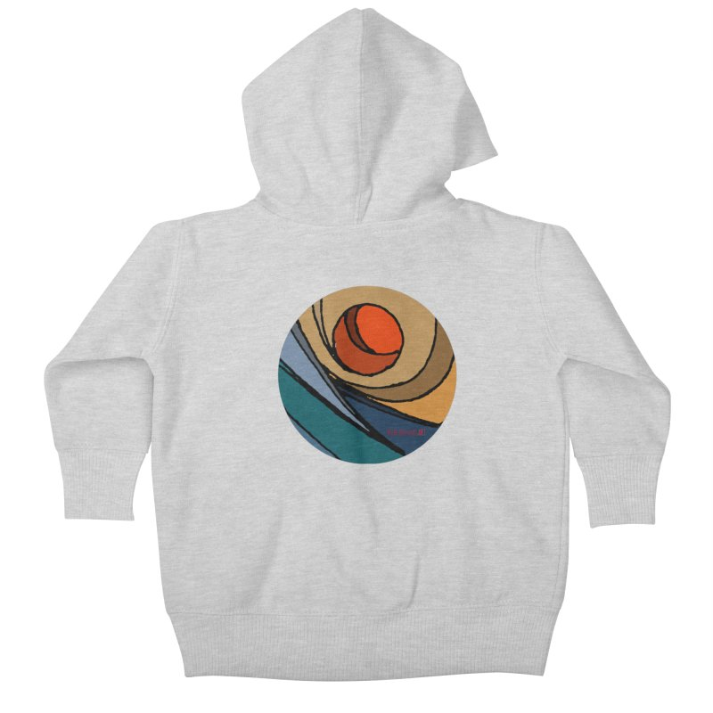 El Mariabelon Kids Baby Zip-Up Hoody by mariabelonesart's Artist Shop
