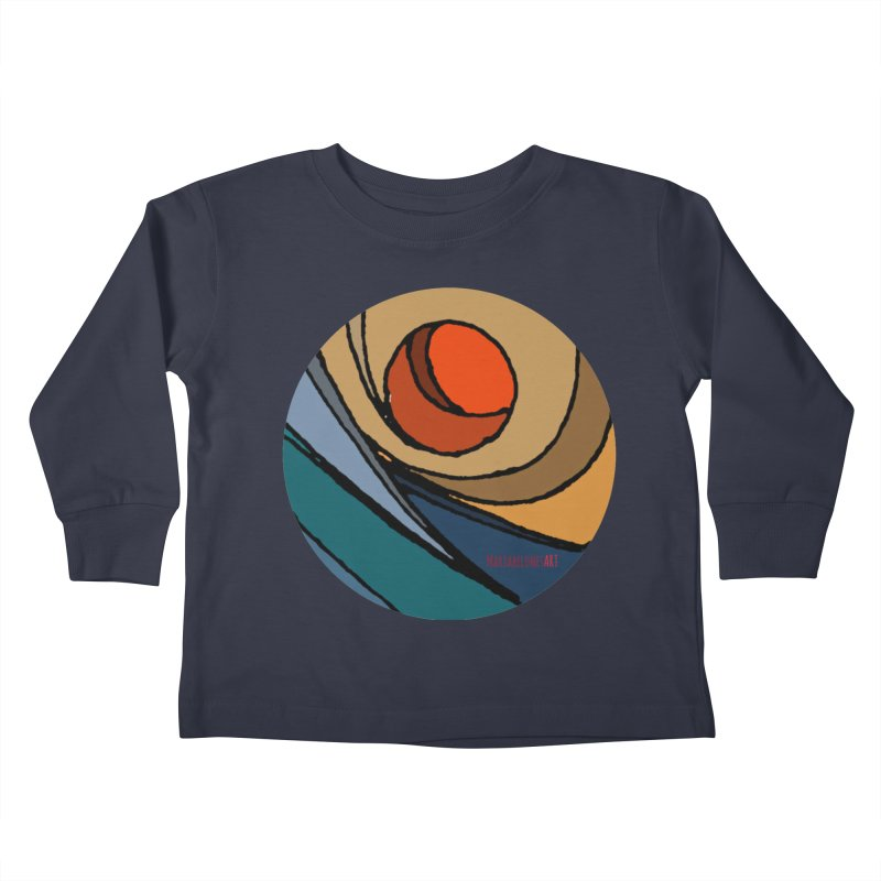 El Mariabelon Kids Toddler Longsleeve T-Shirt by mariabelonesart's Artist Shop