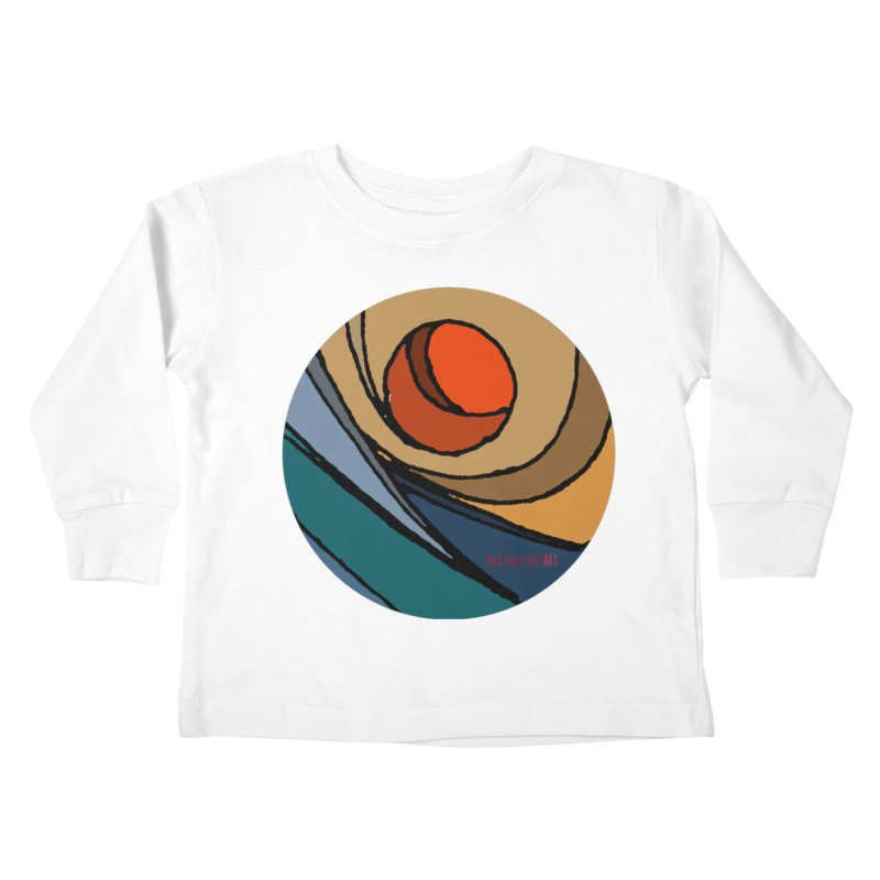 El Mariabelon Kids Toddler Longsleeve T-Shirt by MariabelonesART