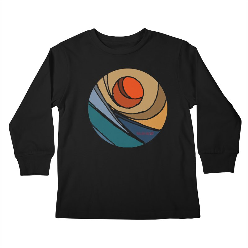 El Mariabelon Kids Longsleeve T-Shirt by mariabelonesart's Artist Shop