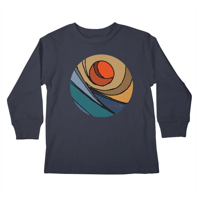 El Mariabelon Kids Longsleeve T-Shirt by MariabelonesART