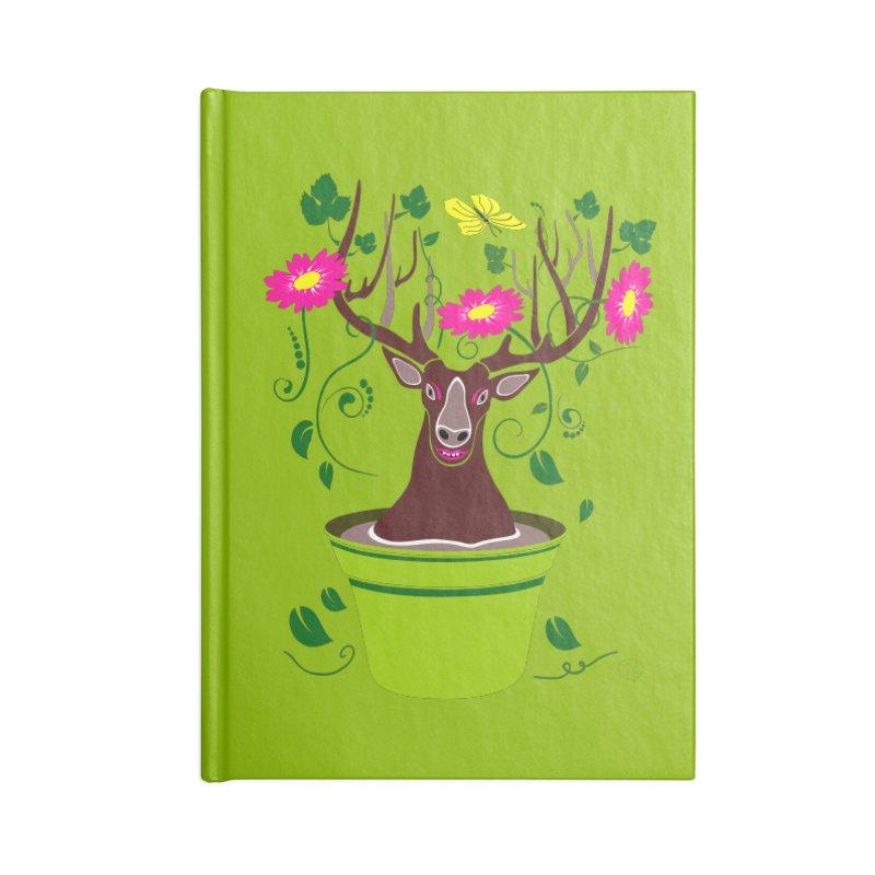 DearDeer Accessories Notebook by mariabelonesart's Artist Shop