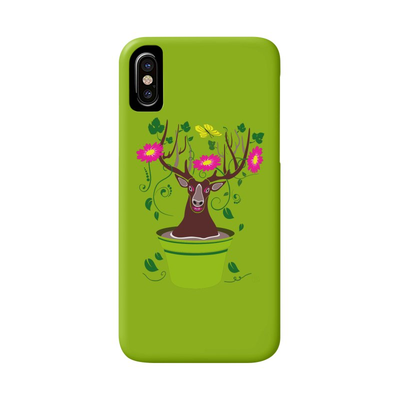 DearDeer Accessories Phone Case by mariabelonesart's Artist Shop