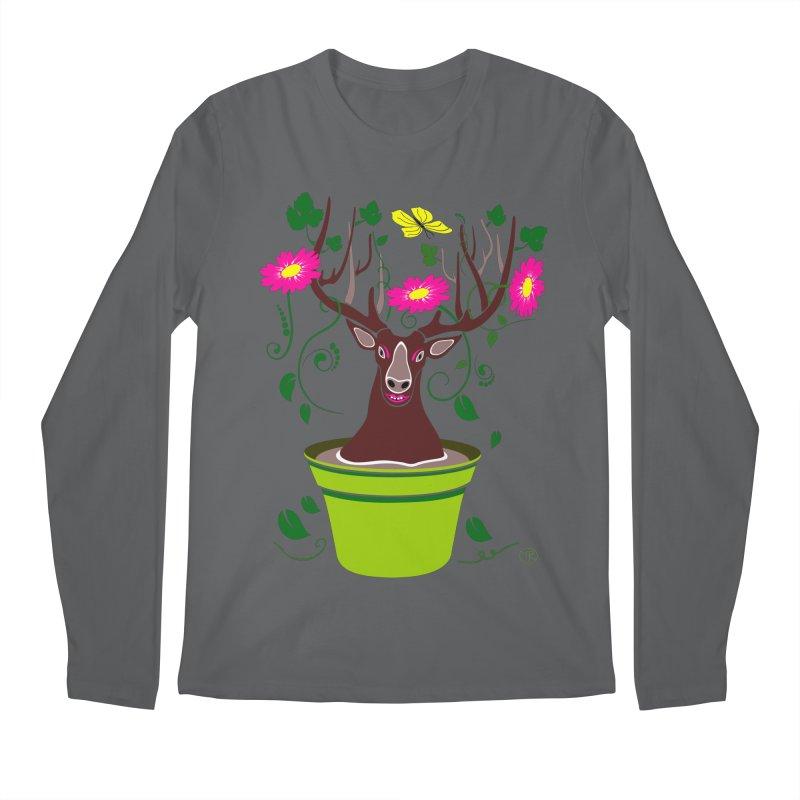 DearDeer Men's Longsleeve T-Shirt by MariabelonesART
