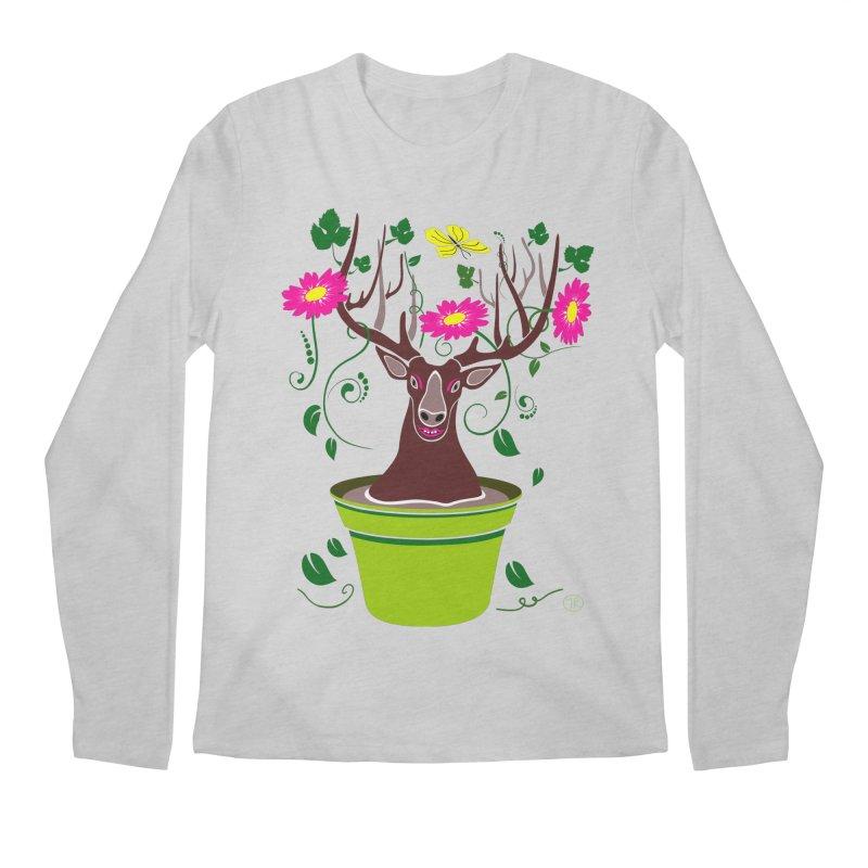 DearDeer Men's Longsleeve T-Shirt by mariabelonesart's Artist Shop